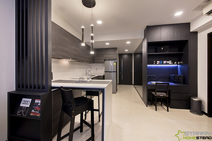 Condo Interior Design & Renovation – Starry Homestead Singapore
