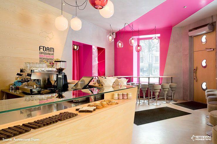 Colorful Coffee Shop Design
