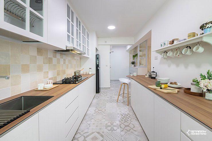 HDB Kitchen Interior Design 1