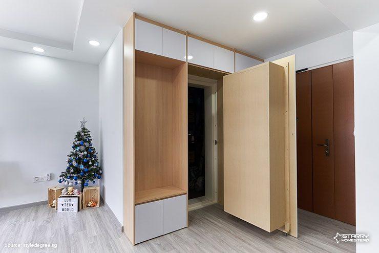 Hidden Bomb Shelter Interior Design