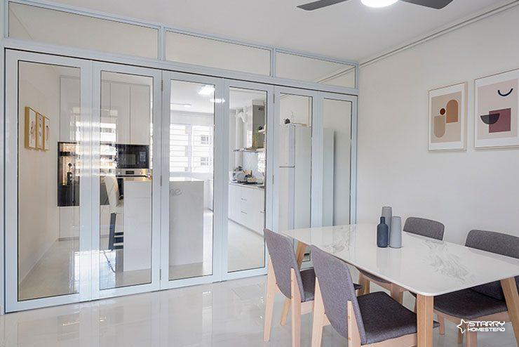 Minimalist interior design in Singapore