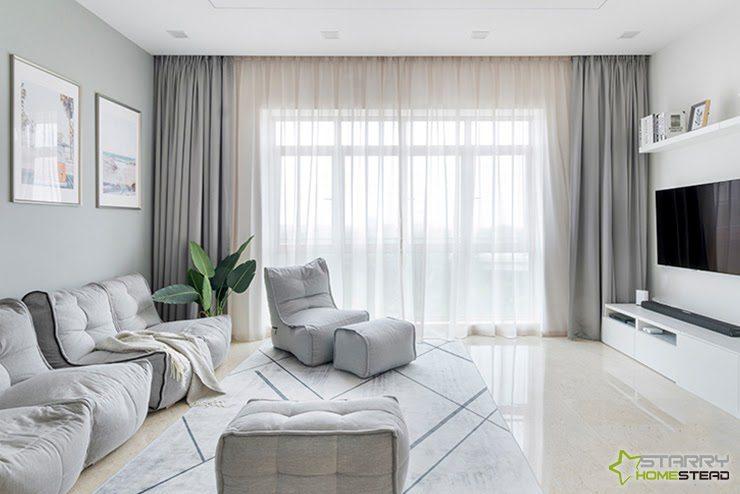 Minimalist Condo interior design