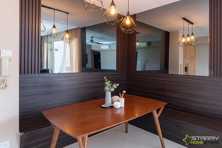 Reflective Surfaces Condo Interior Design