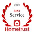 Square 2020 best customer service on Hometrust white
